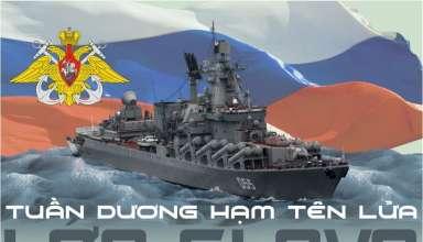 Infographic: Sức mạnh khủng của 'vệ sỹ' tuần dương hạm tên lửa lớp Slava