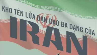 Infographic: Khám phá kho tên lửa đạn đạo 'siêu to khổng lồ' của Iran