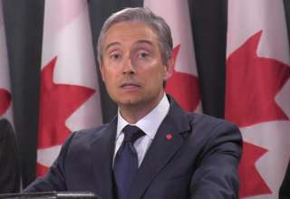 Ngoại trưởng Canada Francois-Philipe Champagne. (Nguồn: Youtube)