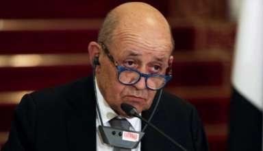 Ngoại trưởng Pháp Jean-Yves Le Drian. (Nguồn: Reuters)