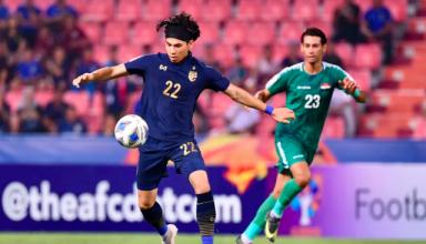 U23 Thái Lan được thưởng sau khi vào tứ kết giải U23 châu Á. (Nguồn: Dân trí)