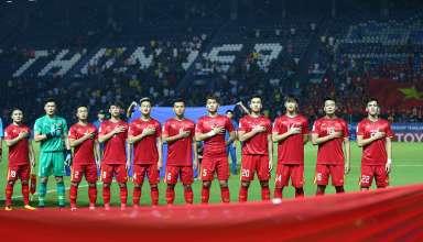 U23 Việt Nam quyết thắng Triều Tiên...Ảnh S.N