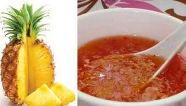 Cách làm nước mắm chay từ quả thơm đơn giản, đậm đà hương vị