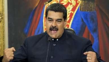 Tổng thống Venezuela Nicolas Maduro. (Nguồn: AP)