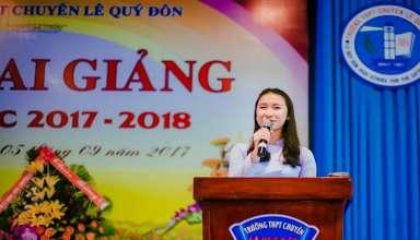 Học sinh Đào Ngọc Minh Khuê