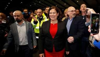 Lãnh đạo đảng Sinn Fein, bà Mary Lou McDonald