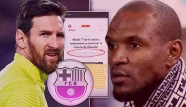 Mâu thuẫn giữa Messi và Abidal