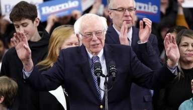 Thượng nghị sĩ độc lập bang Vermont Bernie Sanders