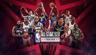 Trận All-Star quy tụ những cầu thủ hay nhất NBA mùa này.Ảnh: NBA.