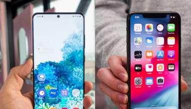 Galaxy S20 Ultra và iPhone 11 Pro Max đều cung cấp cho người dùng nhiều tùy chọn về màu sắc. Ảnh: PhoneArena.