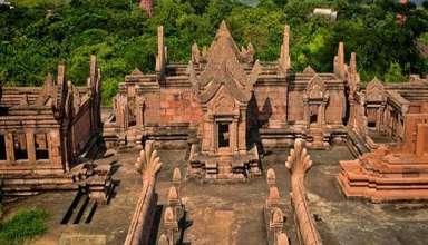 Đền thờ nơi chứa nhiều khung cảnh hùng vĩ nhất trong các đền