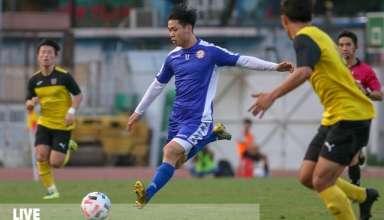 trận đấu giữa CLB TP. Hồ Chí Minh và Yangon United
