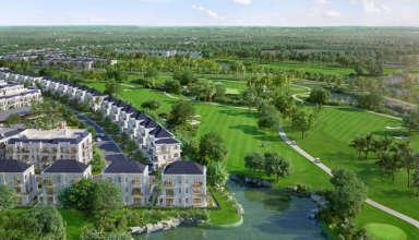 Dự án biệt thự sân golf tại Long An - West Lakes Golf & Villas