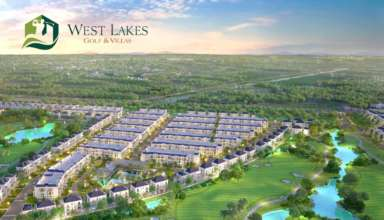 Vị trí chiến lược của siêu dự án biệt thự West Lakes Golf & Villas