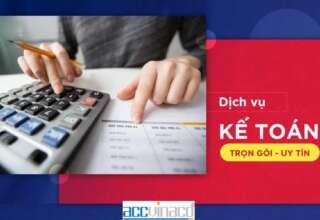 Dịch vụ kế toán uy tín tại Huyện Củ Chi năm 2021, Dịch vụ kế toán uy tín tại Huyện Củ Chi